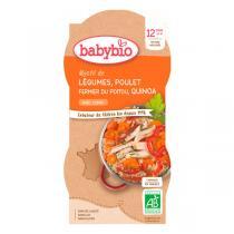 Babybio - Bols Légumes Poulet Quinoa 2 x 200g - Dès 12 mois