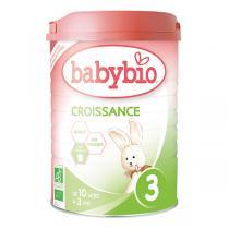 Babybio - Lait de Croissance 3 Bio dès 10 mois 900g