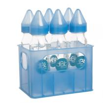 dBb Remond - Crate and 6 Silicone Teat Polypropylene Feeding Bottles