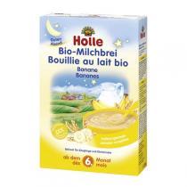 Holle - Bouillie au lait et aux bananes 250g