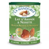 La Mandorle - Lait d'amande et noisette Protéines et magnésium 400g