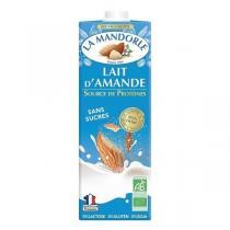 La Mandorle - Lait d'amande sans sucres Protéines et calcium 1L