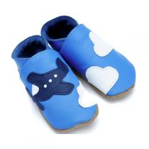Starchild - Pantofole in cuoio Starchild Aeroplane Blue