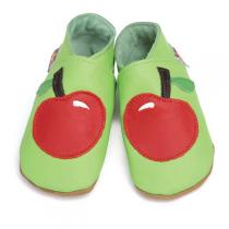 Starchild - Pantofole in cuoio Starchild Apple Red