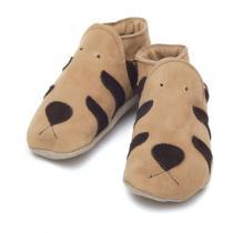Starchild - Patucos de cuero Starchild Tiger Sand