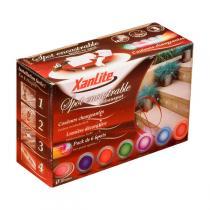 Xanlite - 6 Faretti Spot LED da incasso multicolori