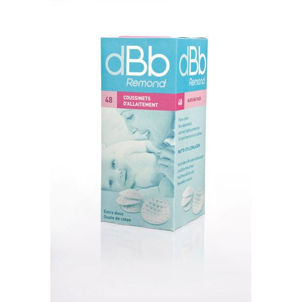 dBb Remond - Boite de 48 coussinets d'allaitement, DOUSSEIN