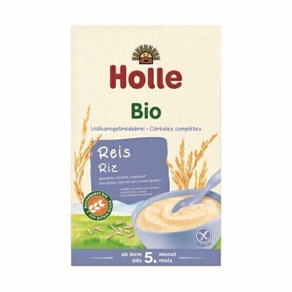 Holle - Crème de riz pour bébé 250g - Dès 4 mois