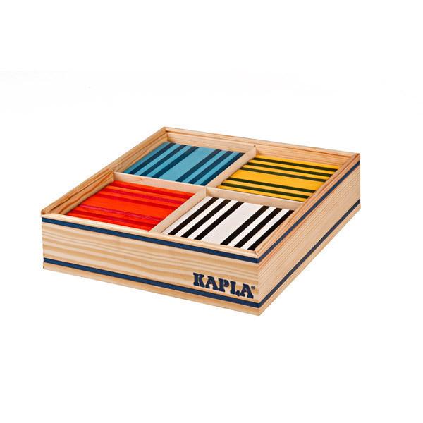 Kapla - 100 bloques de madera para construir