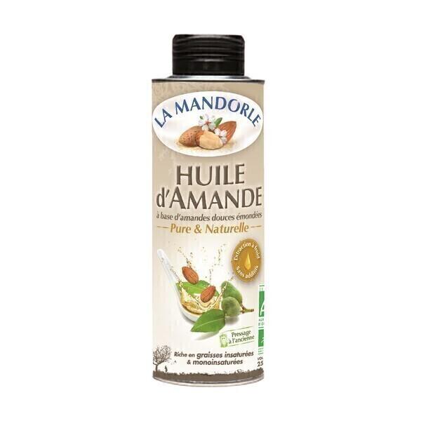 La Mandorle - Huile d'amande douce 250 ml