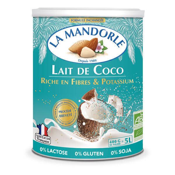 La Mandorle - Lait de coco Fibres et potassium 400g