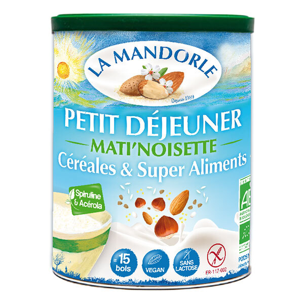 La Mandorle - Bevanda Nocciole Cacao Cereali 400g