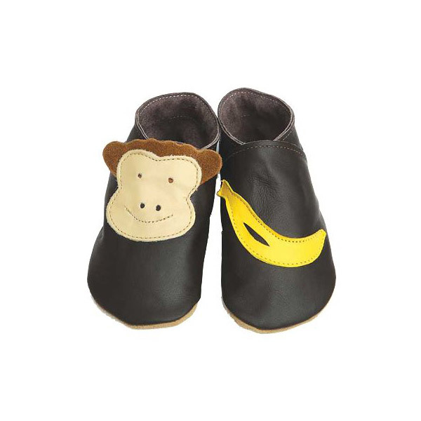 Starchild - Pantofole in cuoio Starchild  Monkey & Banana