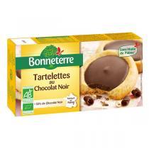 Bonneterre - Tartelettes chocolat noir 125g