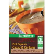 Bonneterre - Petit déjeuner cacao & céréales, 500g
