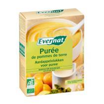 Evernat - Purée de pommes de terre, flocons, 2x125g