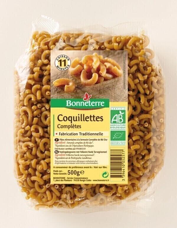 Bonneterre - Coquillettes complètes - 500g