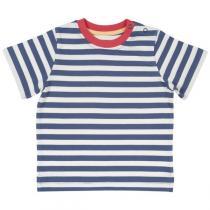"Kite Kids - T-shirt bébé ""Nautical"", coton bio, rayé bleu"