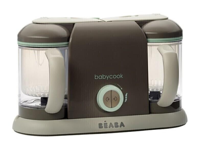 Beaba - Babycook Duo, coloris poudré bleu