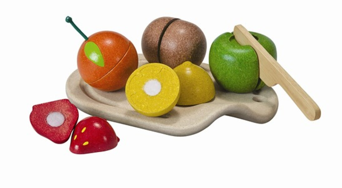 PlanToys - 3600 Assorted Fruit Set