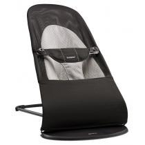 Babybjorn - Transat balance soft BB, coloris noir/gris, mesh aéré