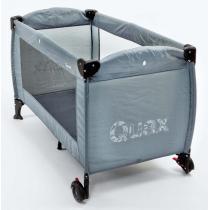 Quax - Lit pliable mobile, coloris gris