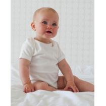 Frugi - Lot de 2 body bébé manches courtes, coton bio, coloris blanc, ta