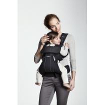 Babybjorn - Porte-bébé One, coloris noir, coton et polyester