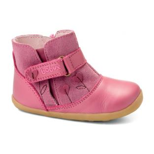 """Bobux - Chaussures """"Sweet heart boot"""", Collection Step up, coloris rose"""