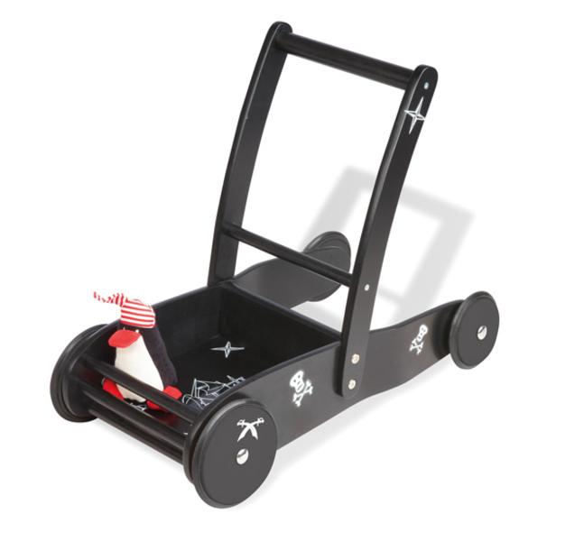 "Pinolino - Chariot à pousser ""Pirat James"" - Noir"