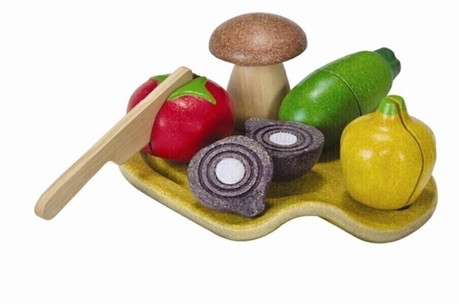 PlanToys - 3601 Assorted Vegetable Set