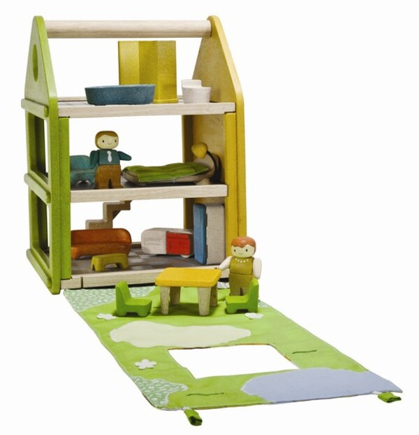 PlanToys - Complete DollHouse with Furniture