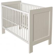 Quax - Lit bébé 60 x 120 cm de la collection Camille, coloris Blanc
