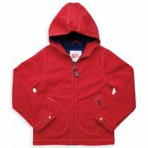 Kite Kids - Manteau GO coat, coloris rouge, coton bio