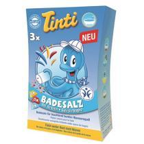 Tinti - Sels de bain - boite de 3 sachets rouge, bleu, jaune