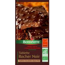 Bonneterre - Tablette Rocher noir, 100g