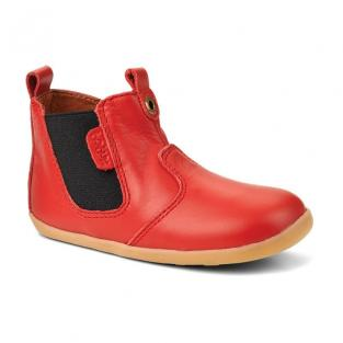 "Bobux - Chaussures ""Jodphur boot"", Collection Step up, coloris rouge"