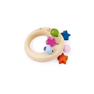 Selecta - Belly Button Stars Rattle Toy
