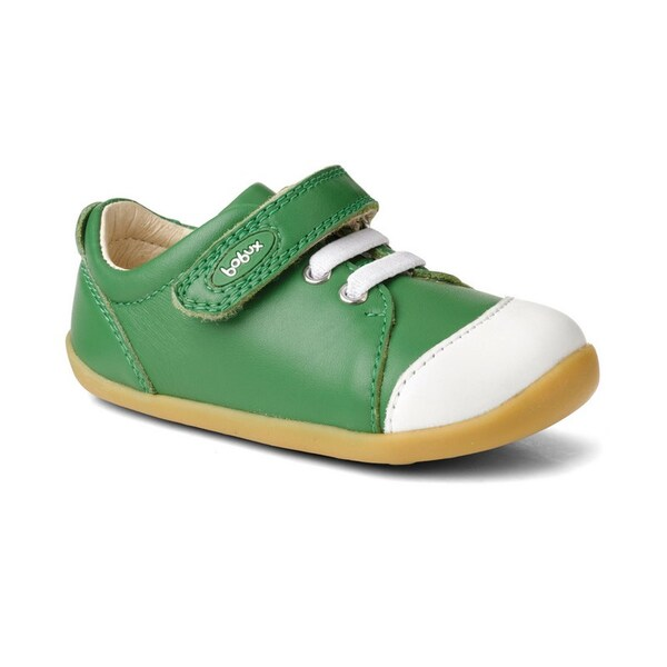 """Bobux - Chaussures Step up """"Ice-cap casual"""", en cuir, coloris vert et bl"""