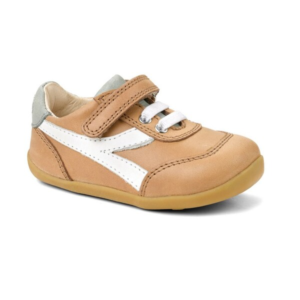 "Bobux - Chaussures Step up ""Lickity split"", en cuir, coloris beige, tail"