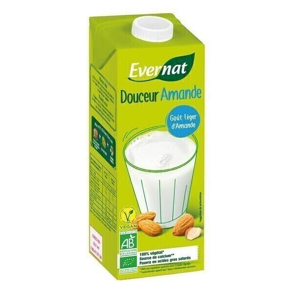Evernat - Douceur Amande au calcium 1L