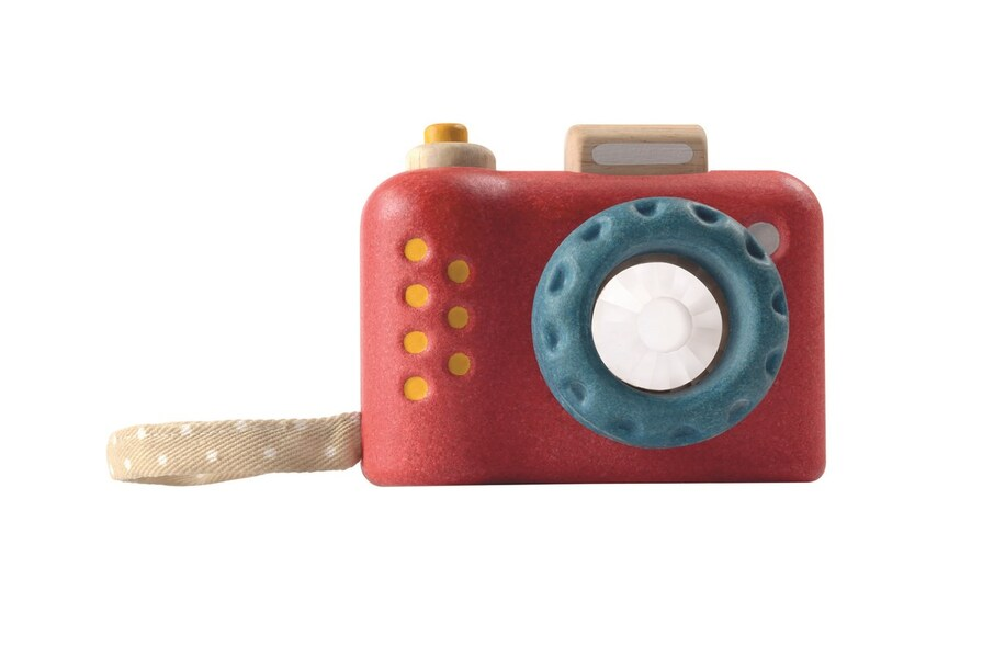 Plan Toys - Mon premier appareil photo PlanWood - dès 18 mois