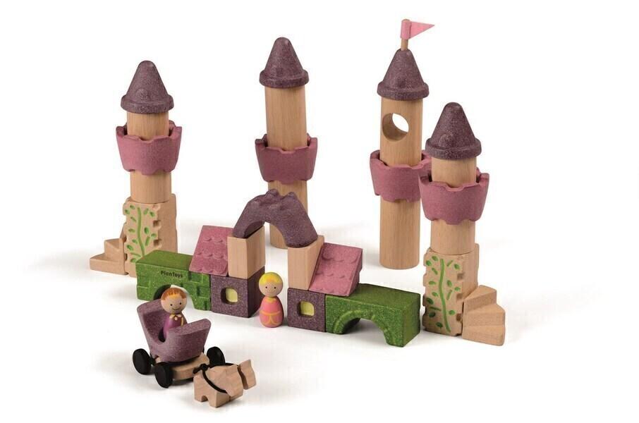 Plan Toys - Blocs de construction Conte de fées - Dès 3 ans