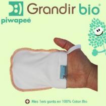Piwapee - Ensemble de 5 gants, coton bio, de Piwapee
