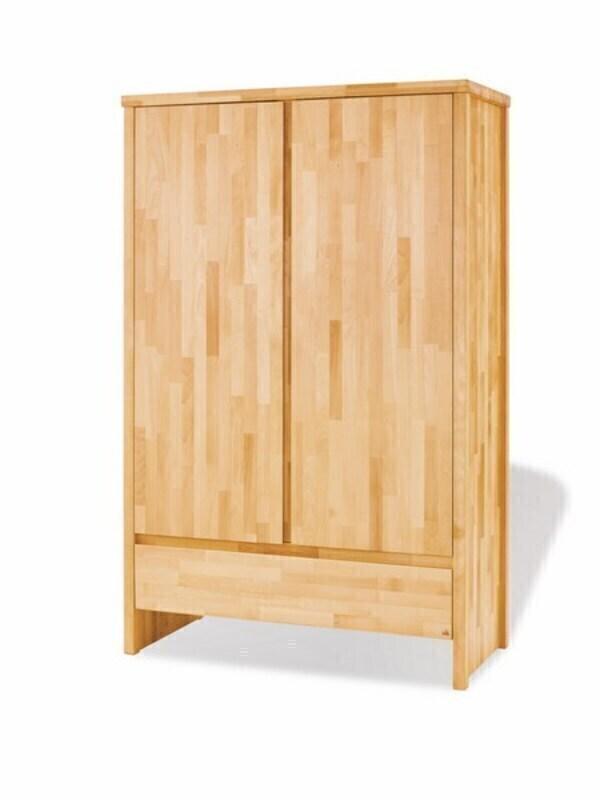 "Pinolino - Armoire 2 portes en bois de hêtre collection ""Fagus"""