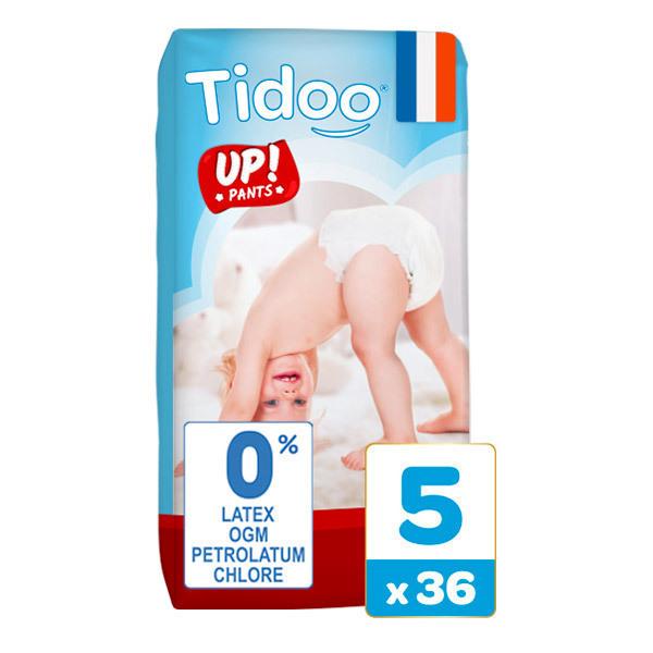Tidoo - 36 Culottes d'apprentissage T5 12-18kg Nature