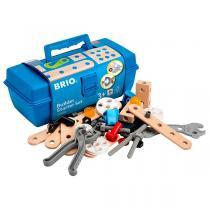 Brio - 34586 Caja de herramientas Builder 48 piezas