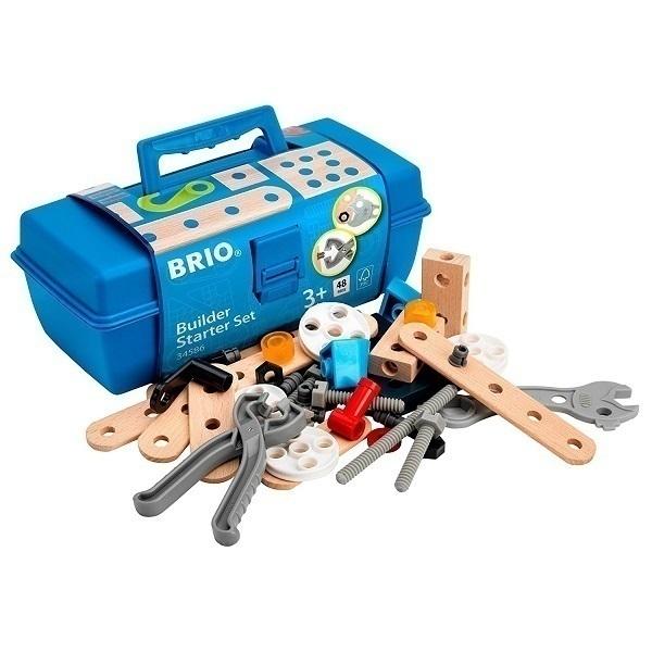 Brio - Boite a outils builder 48 pieces - des 3 ans