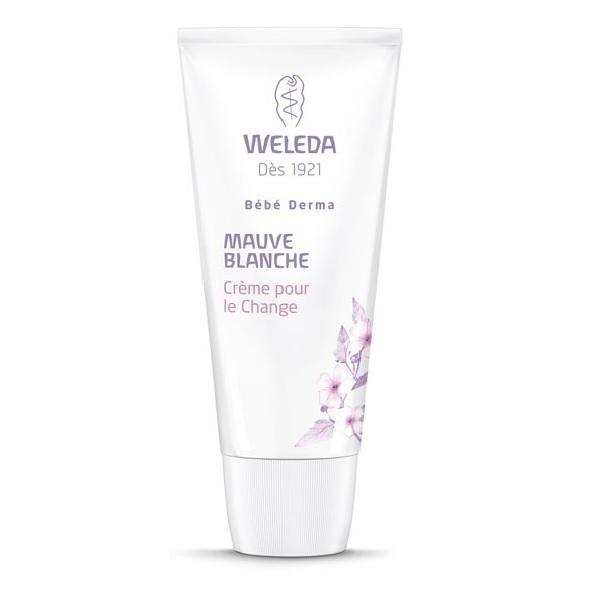Weleda - Crème pour le change à la Mauve blanche bio