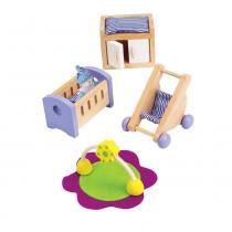 Hape - Chambre de bébé - Meubles maison de poupée